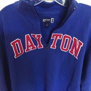 University of Dayton 3/4 zip sweatshirt